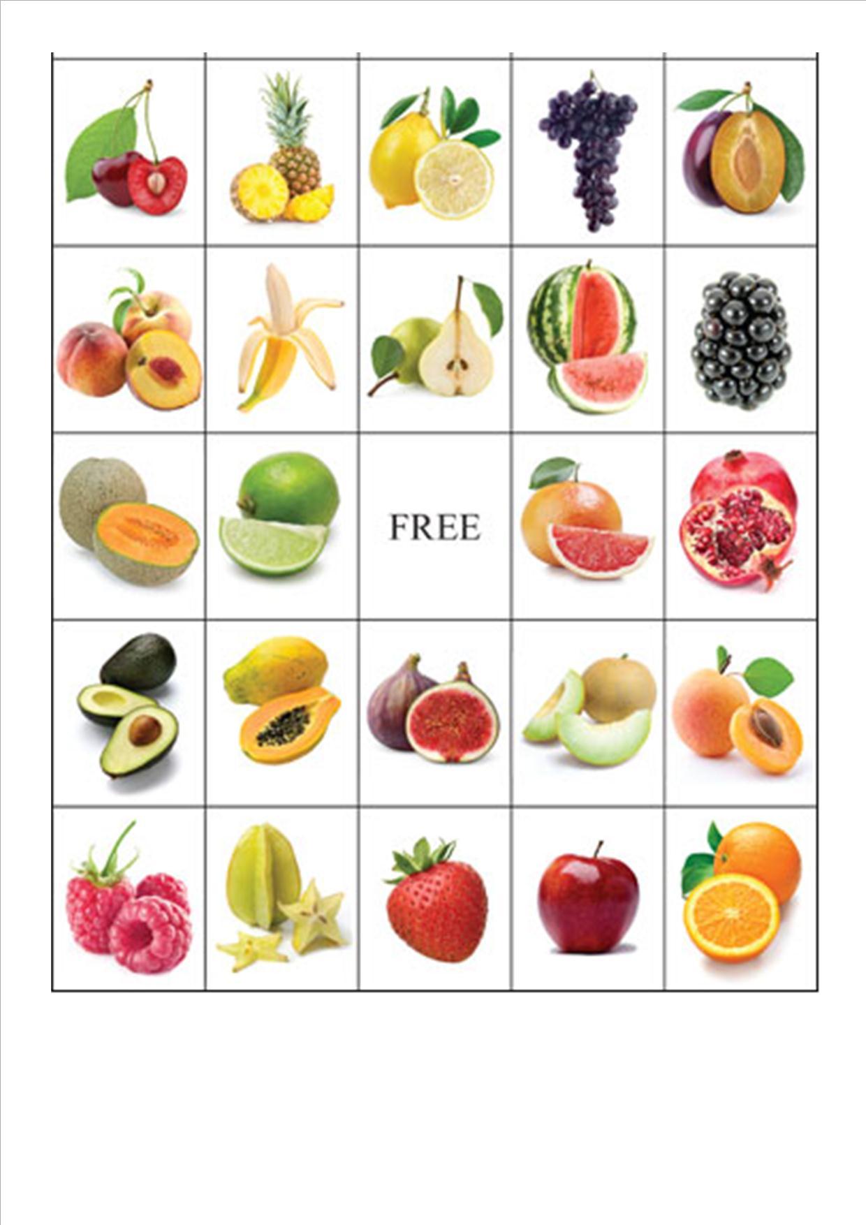 Thema Groenten En Fruit