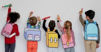 Classmates Friends Bag School Education