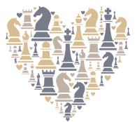 liefde voor het schaakspel