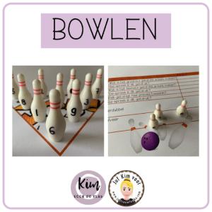 Getalbegrip oefenen met de werkvorm Bowlen