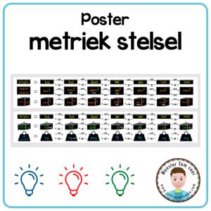 poster metriek stelsel