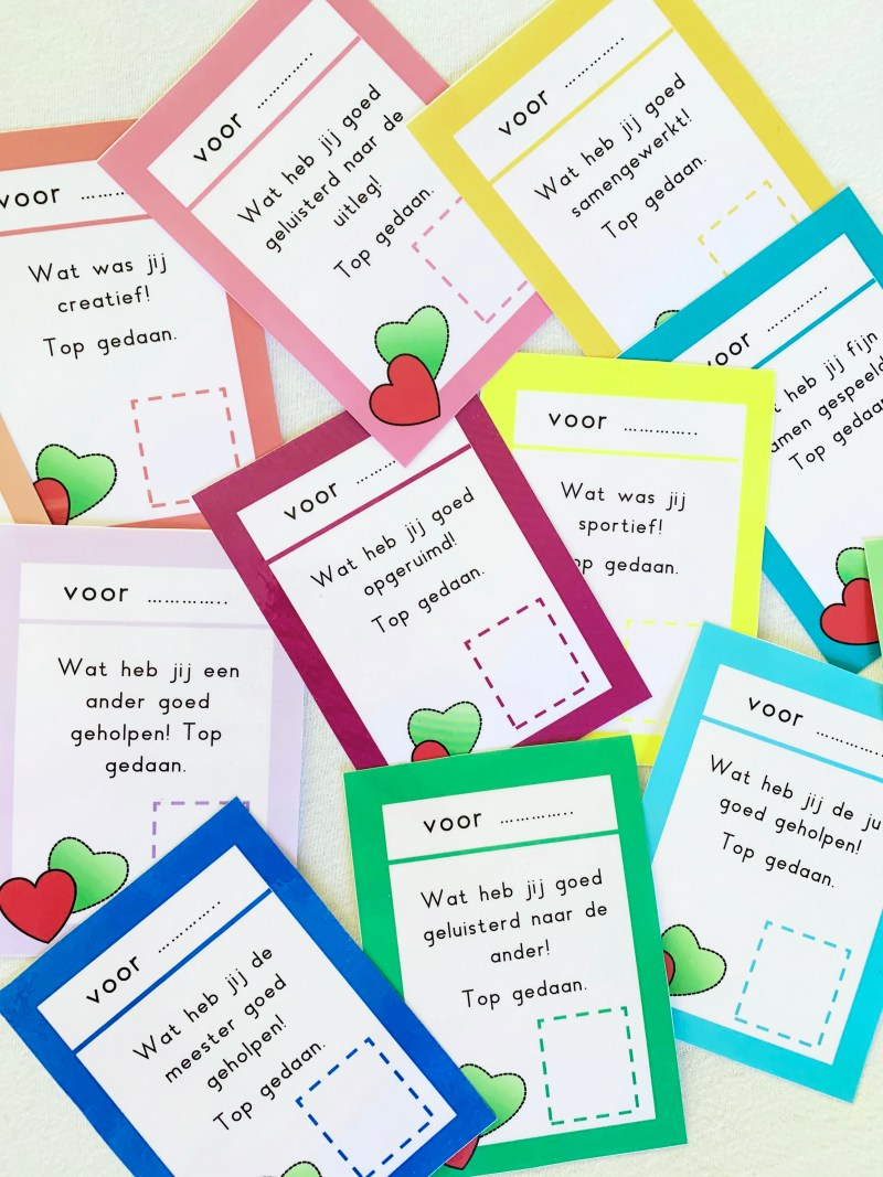 complimentenkaarten