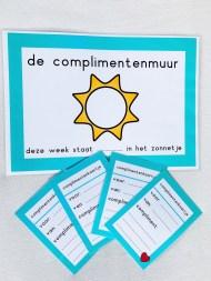complimentenmuur