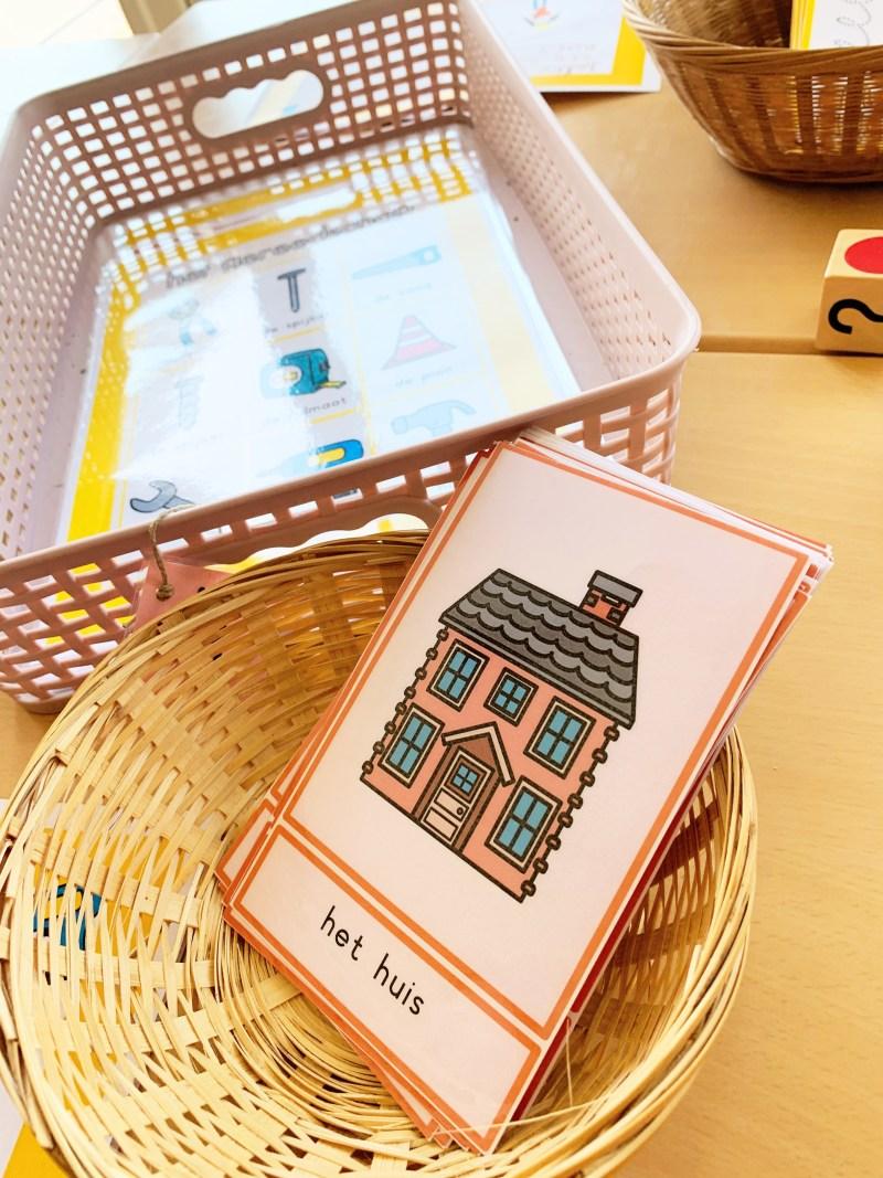 woordkaarten bouwen