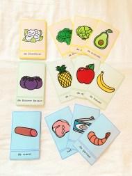 woordkaarten thema eten en drinken
