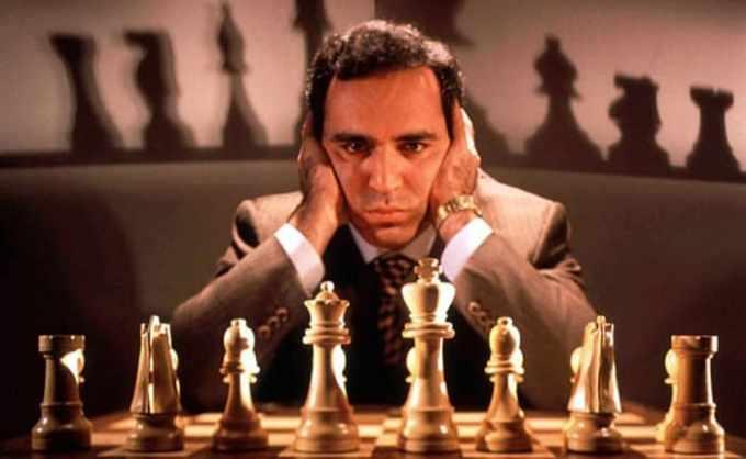 Garry Kasparov gran maestro