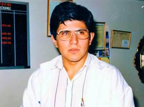 Julio Granda joven