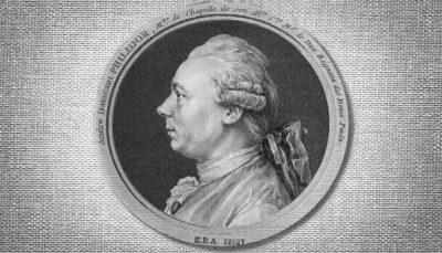 Francois André Philidor de perfil