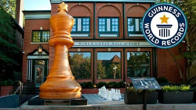 Récords Mundiales de Ajedrez - Pieza-mas-grande-de-ajedrez