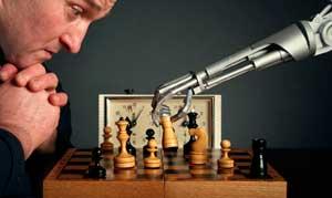 hombre contra la maquina ajedrez