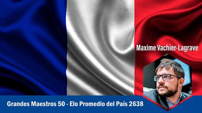 Francia los Países más fuertes en ajedrez