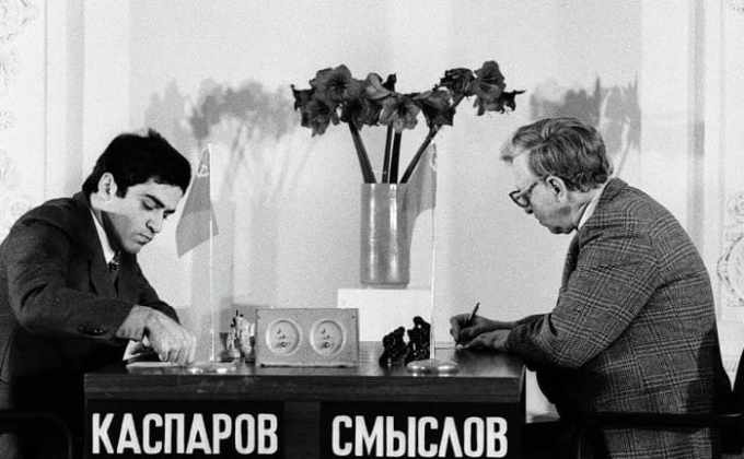 Kasparov vs Smyslov 1984
