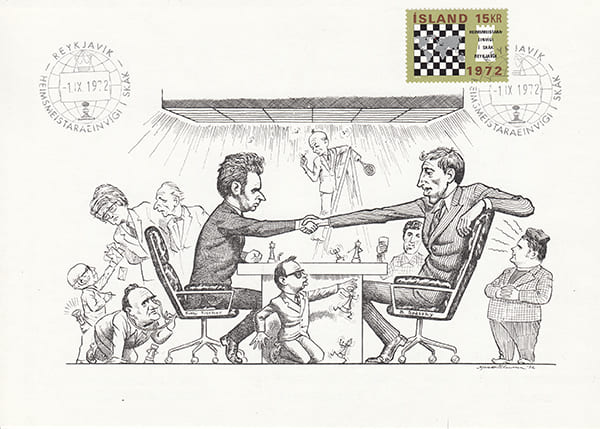 Spassky-Fischer 1972 una epopeya en los dibujos animados-Halldór Pétursson-15