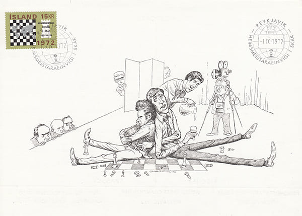 Spassky-Fischer 1972 una epopeya en los dibujos animados-Halldór Pétursson-9