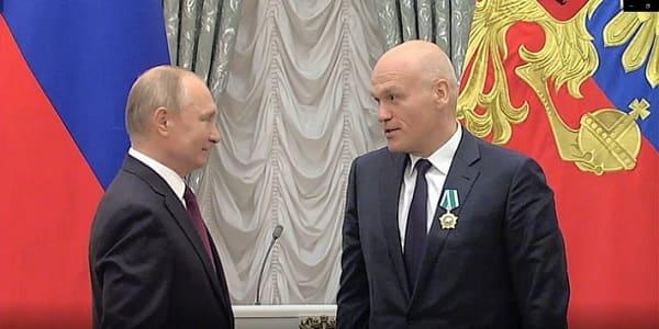 Vladimir Putin y Andrey Filatov