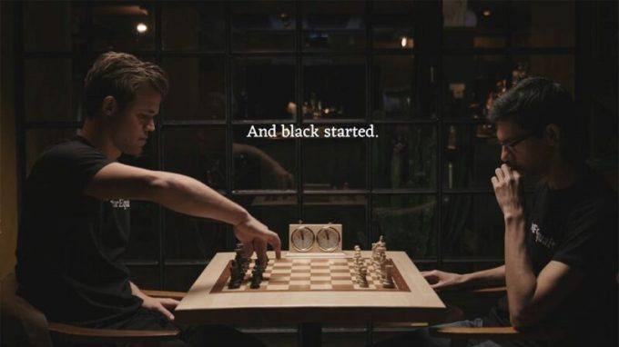 Magnus Carlsen y Anish Giri-Rompimos una regla en el ajedrez hoy, para cambiar las mentes mañana