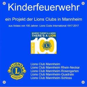 Lions ermöglichen Kindergruppe in Mannheim