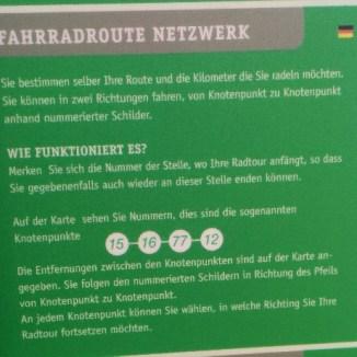 Anleitung - niederländische Radverkehrsnetz