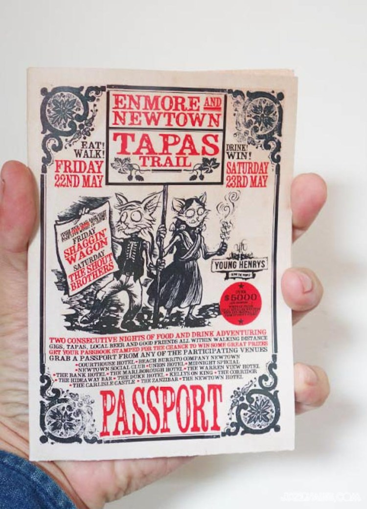 Newtown Enmore Tapas Trail 2015 (3)
