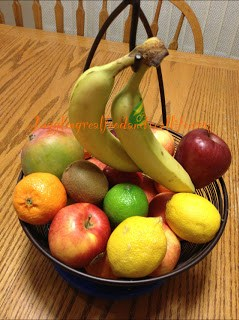 Fruit basket- Fight sugar cravings