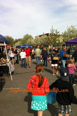 Opening Day at Willoughby Farmer's Market