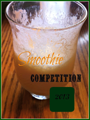 Smoothie Competition  Announcement – Juggling Real Food and Real Life
