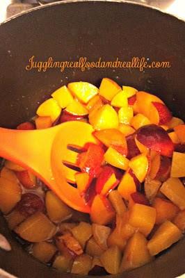 Plum Sauce Cooking