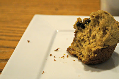 Whole Wheat Banana Muffin with Dark Chocolate Chips