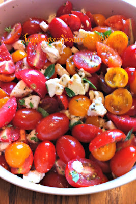 Easy Caprese Salad – Juggling Real Food and Real Life