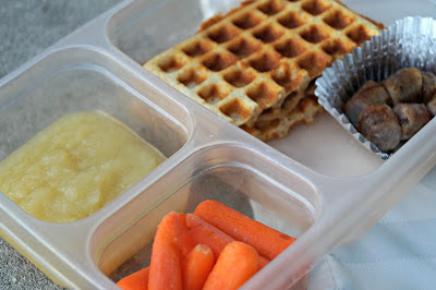 Simple Real Food Lunches (Peanut Butter Waffle Sandwich) – Juggling Real Food and Real Life