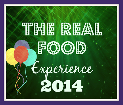The Real Food Experience 2014 Announcement – Juggling Real Food and Real Life