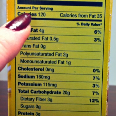 Nutrition Labels 101 – Juggling Real Food and Real Life