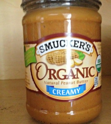 Smuckers Organic Peanut Butter