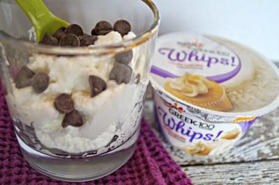 Dark Chocolate Chip Mousse