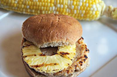 Pineapple Chicken Burger