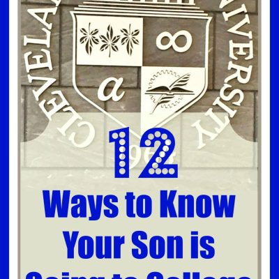 12 Ways You Know Your Son is Going to College Soon Part 2: A Son's Reply