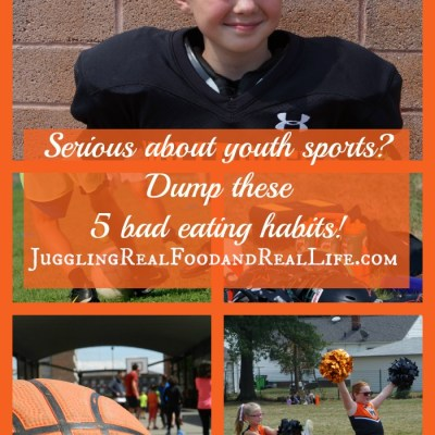 Serious About Youth Sports? Make Sure to Dump These 5 Bad Eating Habits