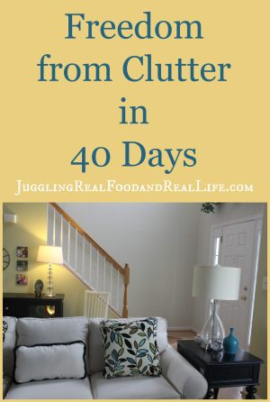 Freedom from Clutter
