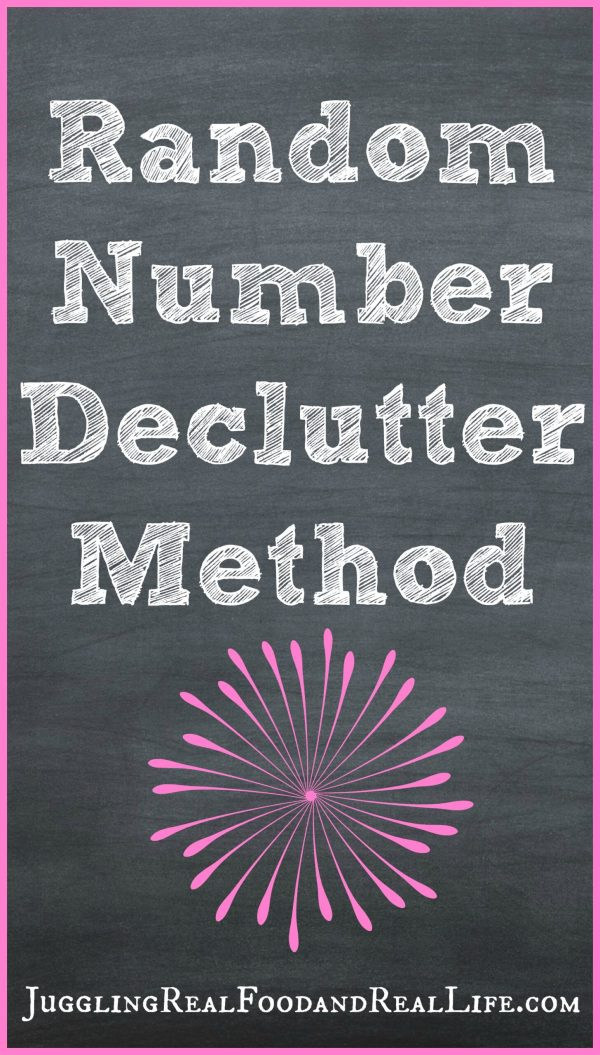 Random-Number-Declutter-Method