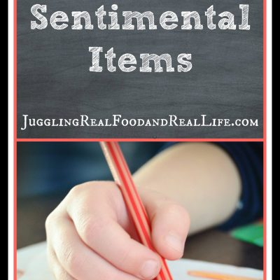 Decluttering Sentimental Items: Part 2