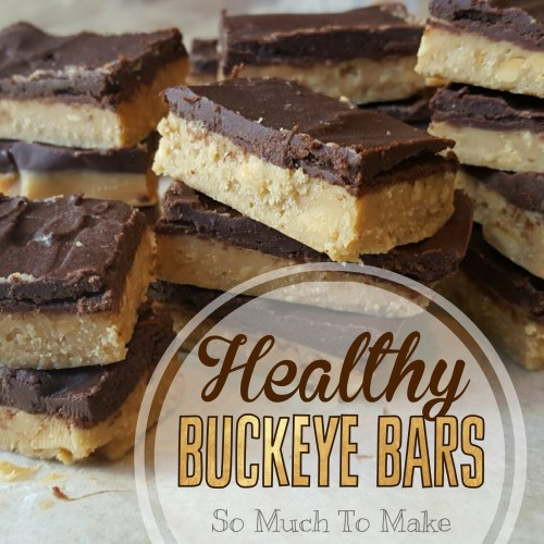 Healthy Buckeye Bars