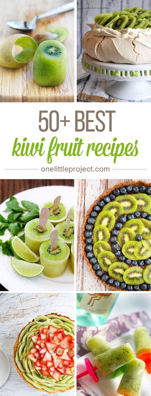 50 Kiwi Recipes