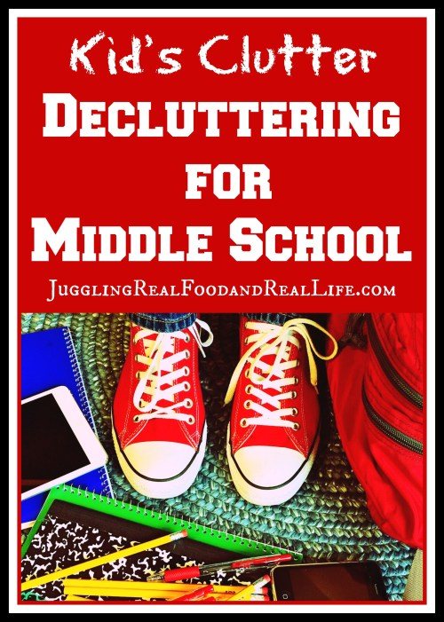 Decluttering-For-Middle-School