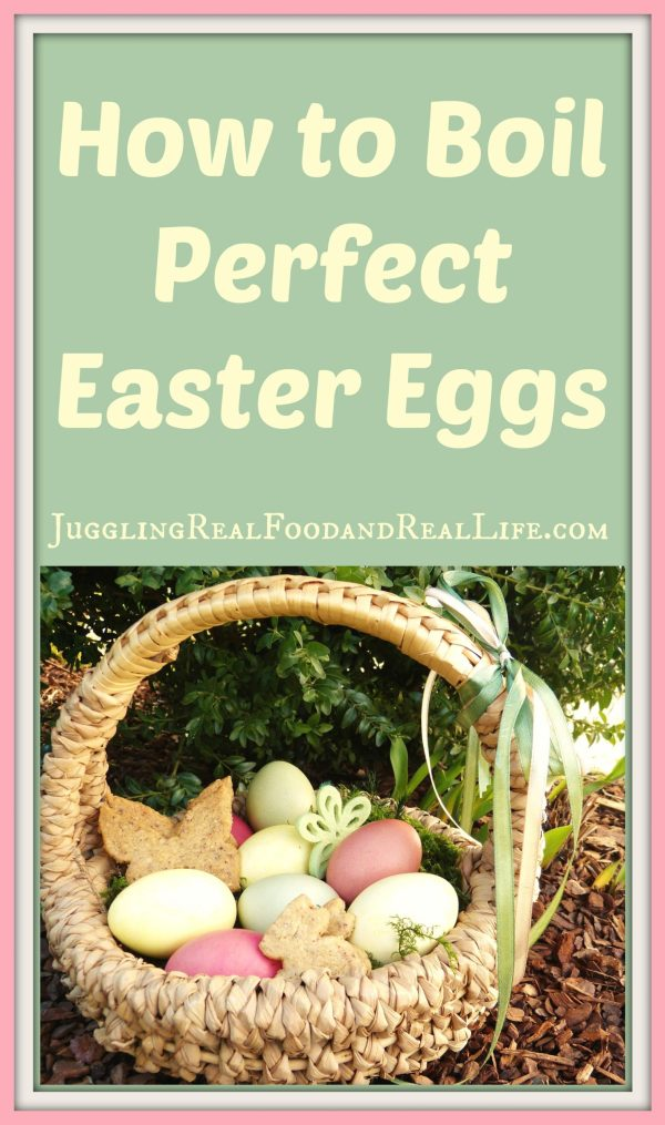 How To Boil Perfect Easter Eggs