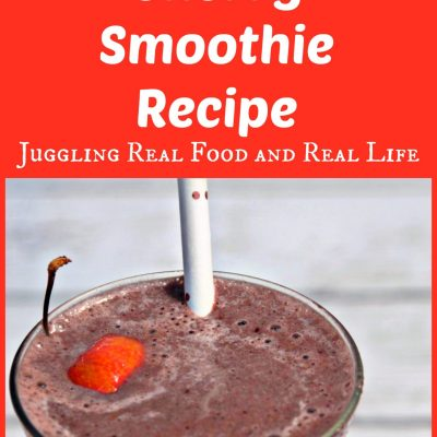 Chocolate Covered Cherry Smoothie Recipe