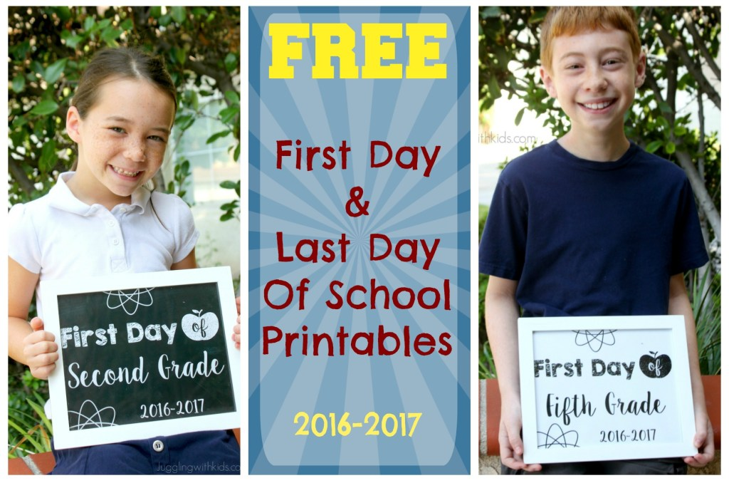 first and last day of school 2016-17