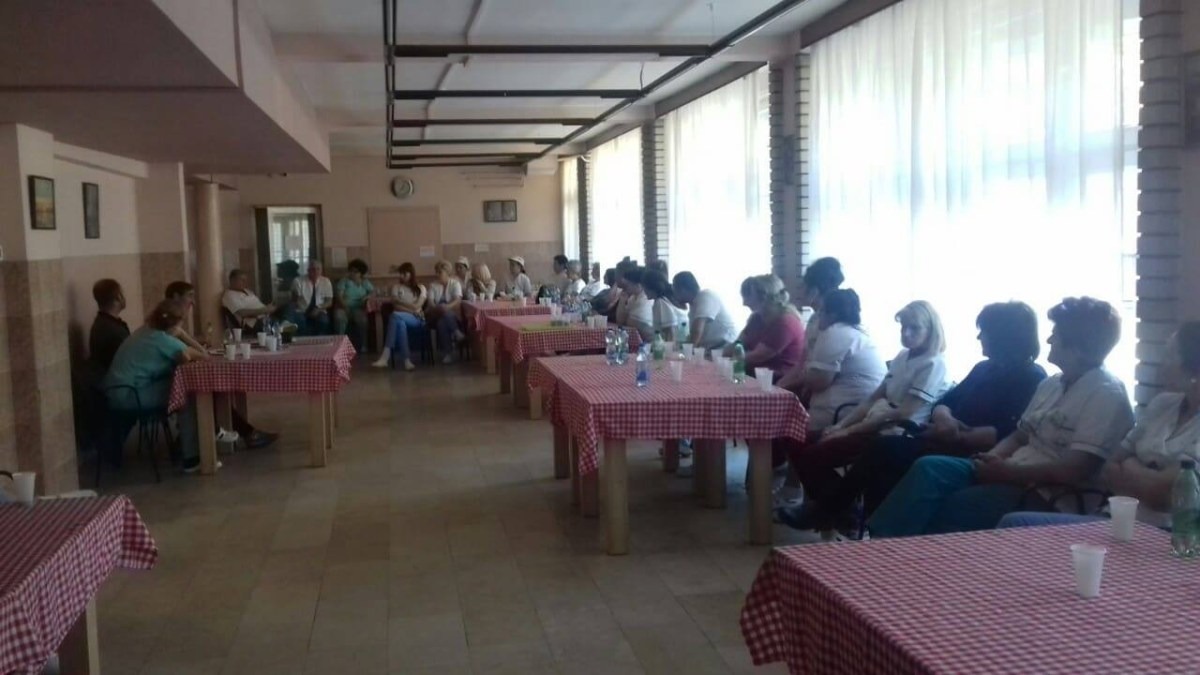 Štrajk upozorenja u ustanovi za stare i odrasle