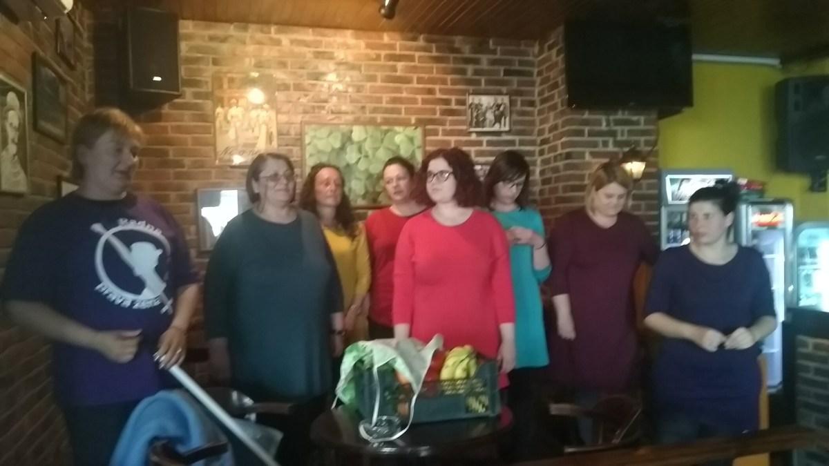 """Performans """"Zajedno do dostojanstvenog rada"""" u Leskovcu"""