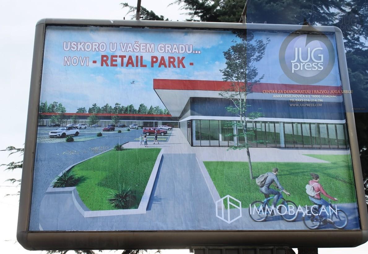 Vranje će dobiti novi tržni centar