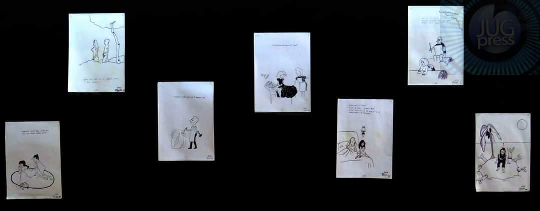 Otvorena izložba karikatura u Grdelici